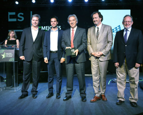 Valle Nevado es nuevamente reconocido entre las Mejores Empresas Chilenas 2018