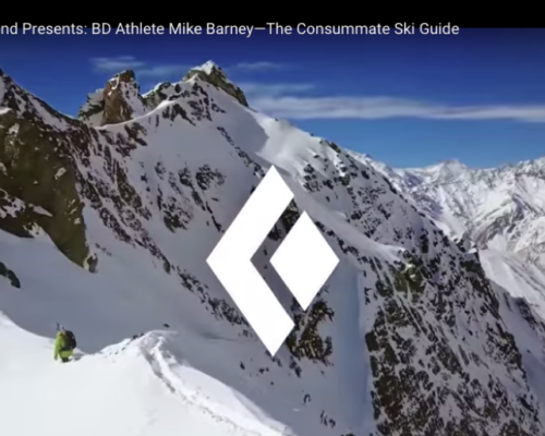 Heli-Ski Guide Mike Barney & Valle Nevado in Black Diamond's Newest Video