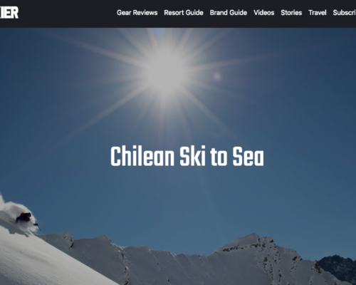"Read Freeskier Magazine's ""Chilean Ski to Sea"" Featuring Valle Nevado"