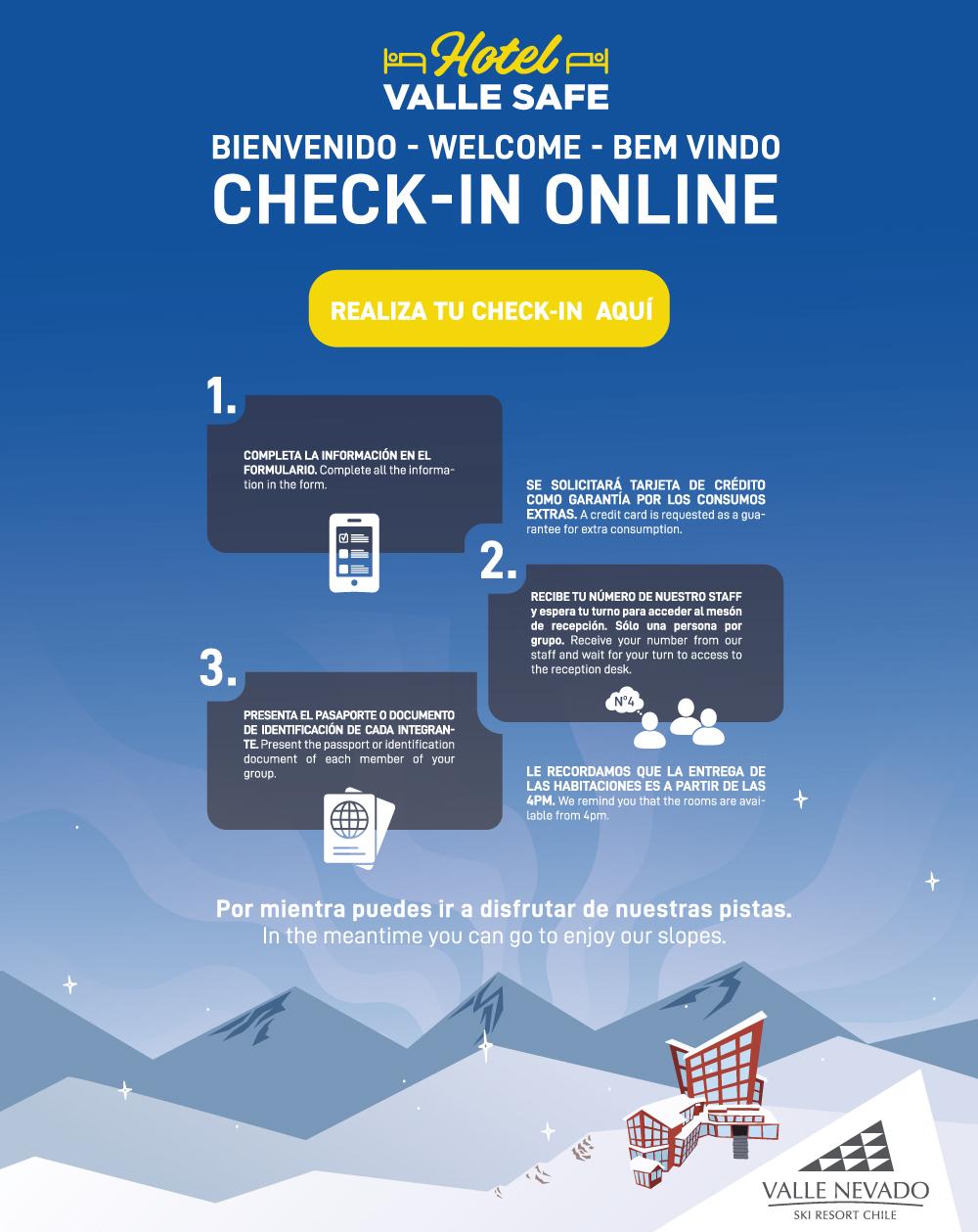 Check In Valle Nevado